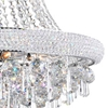 "Picture of 28"" 13 Light Down Chandelier with Chrome finish"