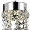 "Picture of 28"" 4 Light Multi Light Pendant with Chrome finish"