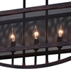 "Picture of 28"" 5 Light Chandelier with Antique Copper Finish"