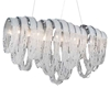 "Picture of 28"" 6 Light Down Chandelier with Chrome finish"