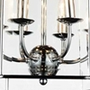 "Picture of 28"" 6 Light Up Chandelier with Chrome finish"