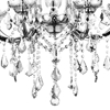 "Picture of 28"" 8 Light Up Chandelier with Chrome finish"
