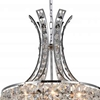 "Picture of 28"" 9 Light  Chandelier with Chrome finish"