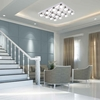 """Picture of 28"""" LED  Flush Mount with Chrome finish"""
