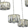 "Picture of 28"" LED Multi Light Pendant with Chrome finish"