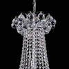 "Picture of 29"" 11 Light Down Chandelier with Chrome finish"