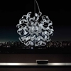 "Picture of 29"" 18 Light  Chandelier with Chrome finish"