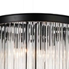 """Picture of 29"""" 4 Light Table Lamp with Black finish"""