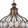 """Picture of 29"""" 6 Light  Chandelier with Antique Bronze finish"""