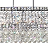 "Picture of 30"" 10 Light Down Chandelier with Chrome finish"