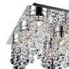 "Picture of 30"" 12 Light  Flush Mount with Chrome finish"