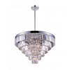 "Picture of 30"" 15 Light Down Chandelier with Chrome finish"