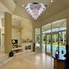 """Picture of 30"""" 15 Light Down Chandelier with Chrome finish"""