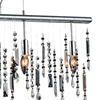 "Picture of 30"" 4 Light Down Chandelier with Chrome finish"