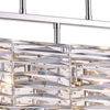 "Picture of 30"" 4 Light Island Chandelier with Bright Nickel finish"