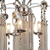 "Picture of 30"" 5 Light Down Chandelier with French Gold finish"