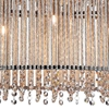 """Picture of 30"""" 5 Light Drum Shade Chandelier with Chrome finish"""
