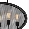 """Picture of 30"""" 5 Light Up Pendant with Black finish"""