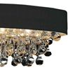 """Picture of 30"""" 6 Light  Flush Mount with Chrome finish"""