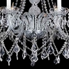 "Picture of 30"" 6 Light Down Chandelier with Chrome finish"