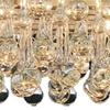"""Picture of 30"""" 6 Light Drum Shade Chandelier with Chrome finish"""