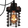 "Picture of 30"" 6 Light Multi Light Pendant with Chocolate finish"