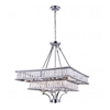 "Picture of 30"" 8 Light  Chandelier with Chrome finish"