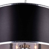"Picture of 30"" 8 Light Drum Shade Chandelier with Chrome finish"