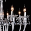 "Picture of 30"" 8 Light Up Chandelier with Chrome finish"