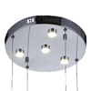 """Picture of 30"""" LED  Chandelier with Chrome finish"""