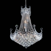 """Picture of 31"""" 11 Light Down Chandelier with Chrome finish"""
