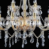 "Picture of 31"" 12 Light Down Chandelier with Gold finish"