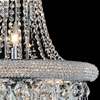"Picture of 31"" 17 Light Down Chandelier with Chrome finish"