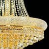 "Picture of 31"" 17 Light Down Chandelier with Gold finish"