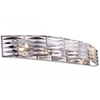 "Picture of 31"" 4 Light Vanity Light with Bright Nickel finish"