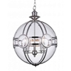 "Picture of 31"" 5 Light  Pendant with Chrome finish"