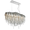 "Picture of 31"" 6 Light Down Chandelier with Chrome finish"