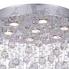"""Picture of 31"""" 7 Light  Flush Mount with Chrome finish"""