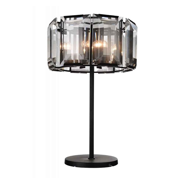 """Picture of 31"""" 8 Light  Chandelier with Black finish"""