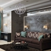 """Picture of 31"""" 8 Light  Chandelier with Chrome finish"""