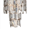 "Picture of 32"" 10 Light Down Chandelier with Champagne finish"