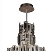"""Picture of 32"""" 10 Light Down Chandelier with Champagne finish"""