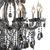 "Picture of 32"" 10 Light Up Chandelier with Chrome finish"