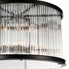 """Picture of 32"""" 12 Light  Chandelier with Black finish"""