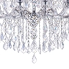 "Picture of 32"" 19 Light Up Chandelier with Chrome finish"