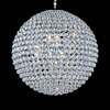 "Picture of 32"" 20 Light  Chandelier with Chrome finish"