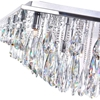 "Picture of 32"" 20 Light  Flush Mount with Chrome finish"