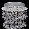 """Picture of 32"""" 4 Light  Flush Mount with Chrome finish"""