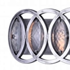 """Picture of 32"""" 5 Light Vanity Light with Gun Metal finish"""