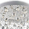 """Picture of 32"""" 6 Light  Flush Mount with Chrome finish"""